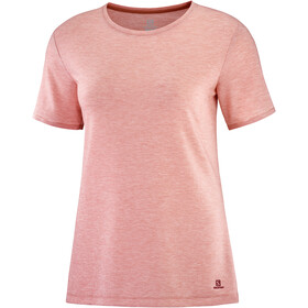 Salomon Sight Classic SS Tee Women, brick dust